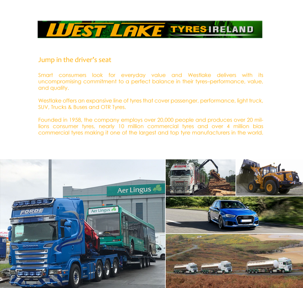WELCOME TO WESTLAKE TYRES IRELAND